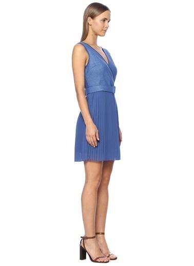 NetWork Elbise Mavi